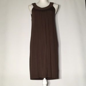 NWOT Michael Kors long brown dress